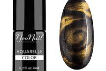 Silver & Gold Aquarelle Nowość NeoNail