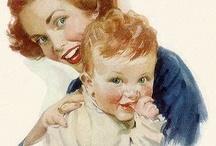 Retro mum