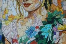 Vrouw / Mozaiek