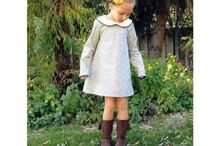 Sewing pattern wishlist - kids clothes