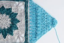 crochet square and join