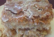 Backen / Gedeckter Apfelkuchen