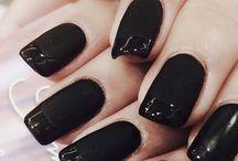 μαύρα νύχια
