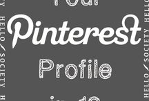 #Pinterest Tips / Tools, tips, and tactics for elevating your Pinterest game.