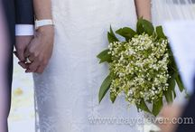 Wedding bouquet and boutonnières / Spring and summer flowers