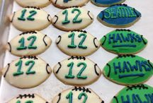 Sweet Super Bowl Party / Of course we at Street Treats think any excuse for friends and good food to come together is a given. When the Seattle Seahawks are playing in the Super Bowl, it is a requirement! Order our fabulous and festive Seahawks cookies or perhaps a bunch of ice cream sandwiches for your party. https://www.facebook.com/pages/Street-Treats/288710694215?ref=br_tf