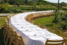 The light Feast table
