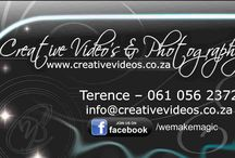 Contact Details / Professional Video and Photography for Any Type of Event or Occasion. Phone: 061 056 2372 Email: info@creativevideos.co.za Facebook: www.facebook.com/wemakemagic