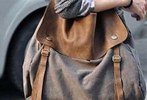 canvas leather bag ideas DIY