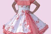 vestidos de huasita
