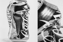 Observational Drawing of a Coke Can