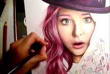 Art : Colored Pencil Instruction / by Katrina Lum