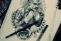 Arcképes Tetoválások
