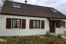 Isolation des façades d'une maison de plain-pied - Bouray-sur-Juine (91)