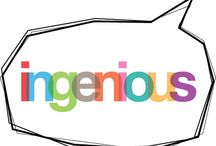 ingenious, 1 / blog post http://nicolegalpern.co/post/103976468901/ingenious http://nicolegalpern.co/post/106983916291/ingenious