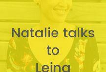 Natalie Talks To....