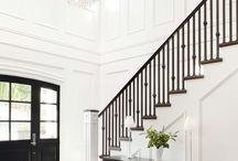 Parents - escalier