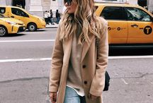Camel coat outfits