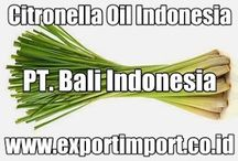 Supllier Citronella Oil Indonesia