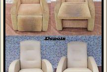 Cadeira do pai / Reformas