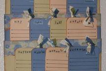birthday calendars / by Jamie Reed