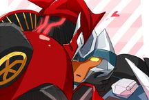Transformers Prime Yaoi/Slash