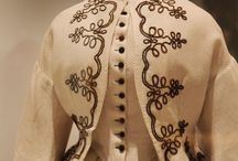 Mid 19th century soutache embroidery