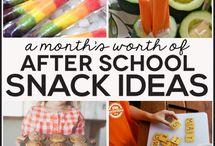After-school Snacks / by School Bites