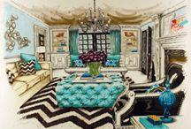 interior design, homes, casas