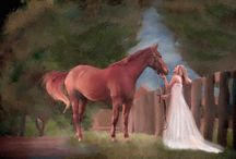 My equestrian portraits