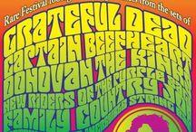 hippie plakate