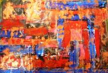 My Mixed Media Abstracts 2012