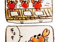 カニ(V)(*'ω'*)(V)
