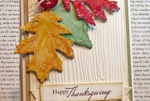 Stampin' Up! Thankful Leaves Thanksgiving Fall
