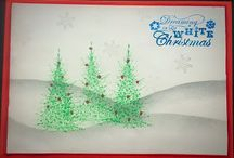 Handmade Christmas Cards!