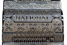 Antique Cash Registers / Early style vintage antique cash registers