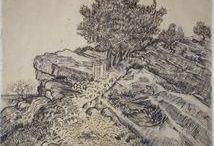 van Gogh rajzok