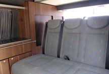 VW T5 Full Camper / Surfbus interior designs