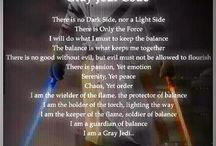 The Gray Jedi / There is no Light Side, nor a Dark Side. There is only The Force.