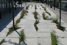 Landscape: paths & paving