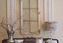 Home...DIY home deco ideas / by Carolynne Mason