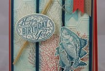 Manly Cards/Crafts / by Peggy Willprecht