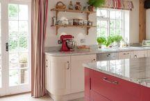 Кухня, современный интерьер, кухня остров