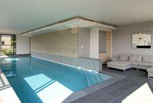 Piscines ALKORPLAN 3000 / Photos de piscines construites avec la membrane armée ALKORPLAN 3000.