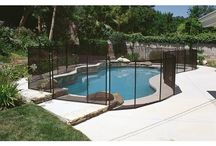 Fences around pools