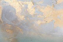 Konst i turkos guld