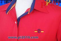 Camisa bandera de España mujer / Camisas de mujer con bandera de spaña
