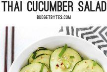 Recipes - Cucumber