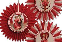 Vintage Valentine's Day  / Cute vintage and retro valentine's day decorations
