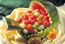 Fruits And Veggies / by Carolyn Hunter